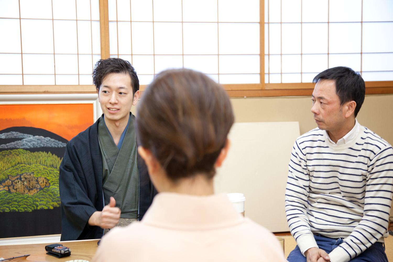 北陸の第一線を切り開かんとする貴重な面々との座談会に、壱ポイント・田崎からの質問にも熱が入ります