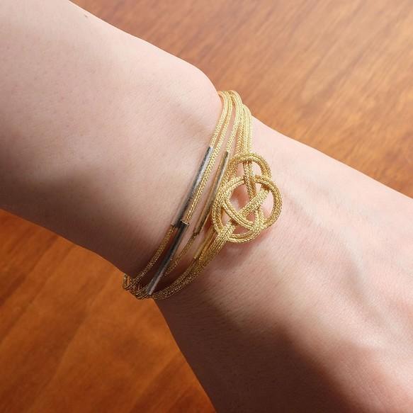 awaji bracelet ゴールド3