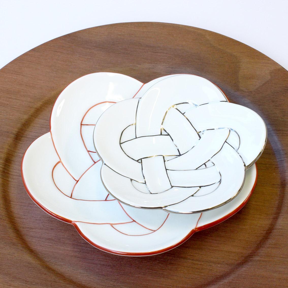 梅むすび小皿・銘々皿