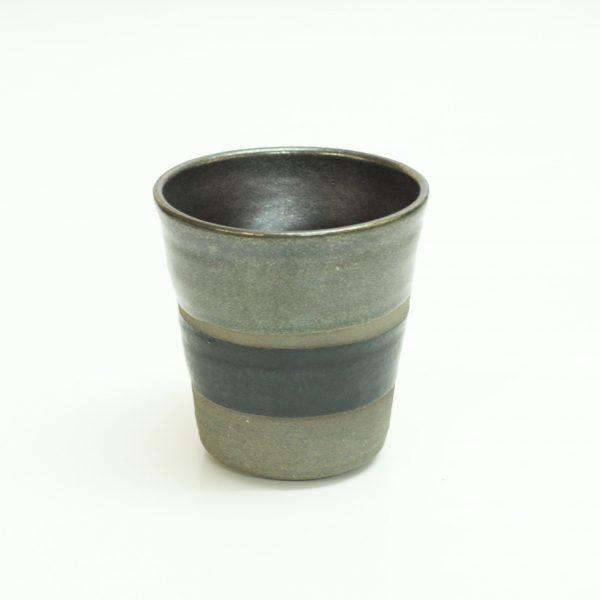 TSUNE 焼酎杯 -ラスター黒-