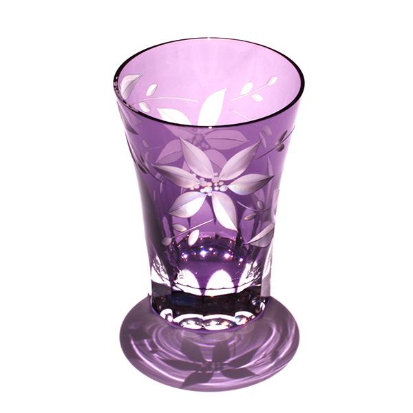 山田硝子 タンブラー 鉄線 -紫-