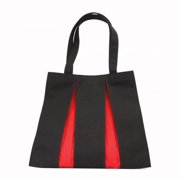 KOSHO トートバッグMH  墨色×紅色