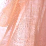 絹紡ストール 桃色