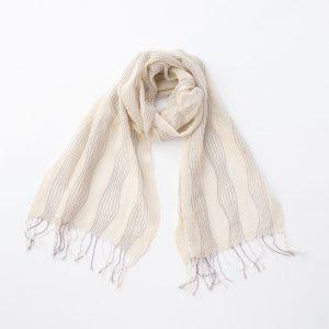 工房織座 kobooriza 綿のゆらぎ -エクリュ-