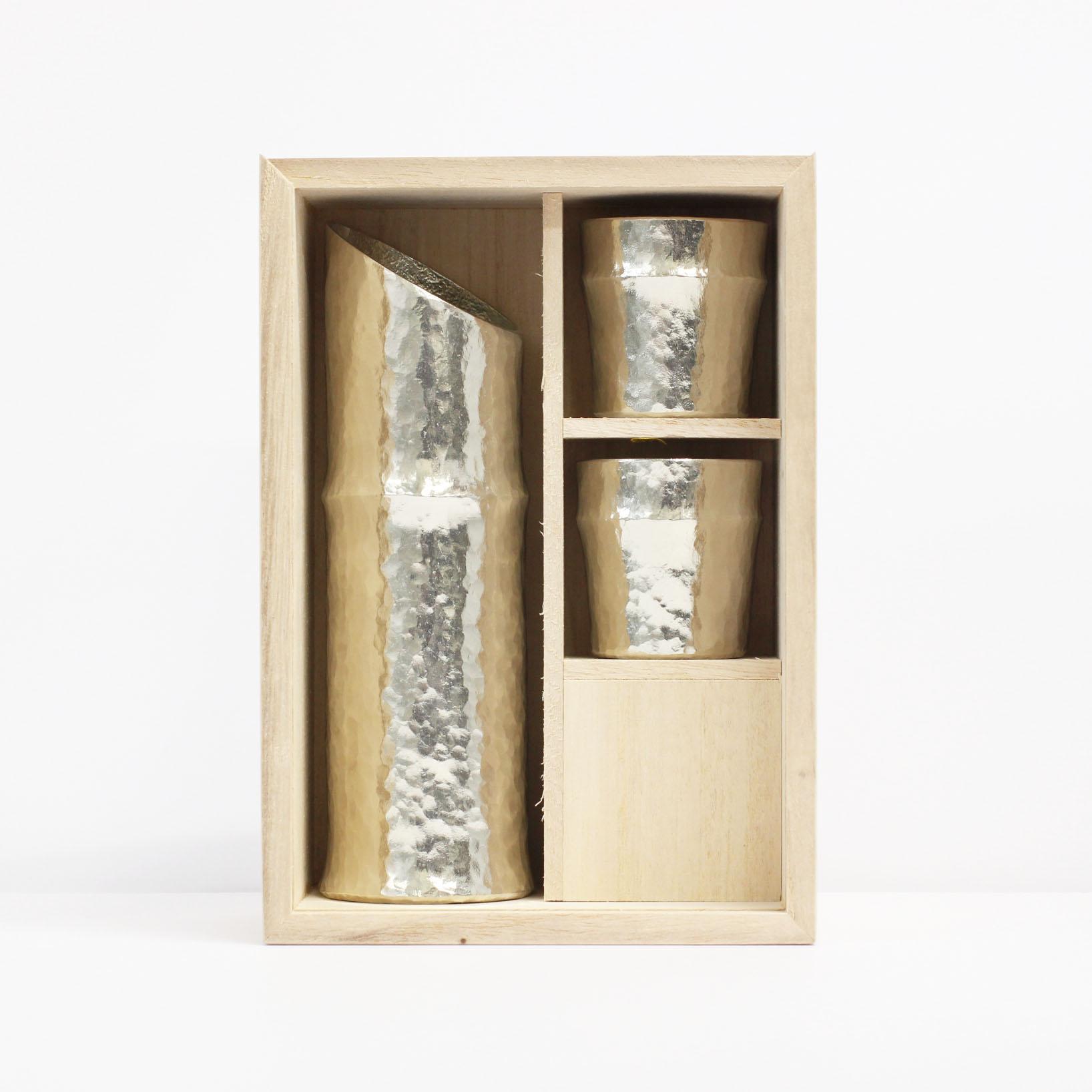 竹型酒器2