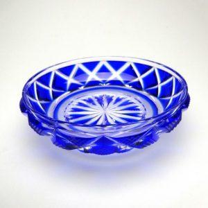005207小皿B(瑠璃)